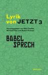 Cover Lyrik von Jetzt